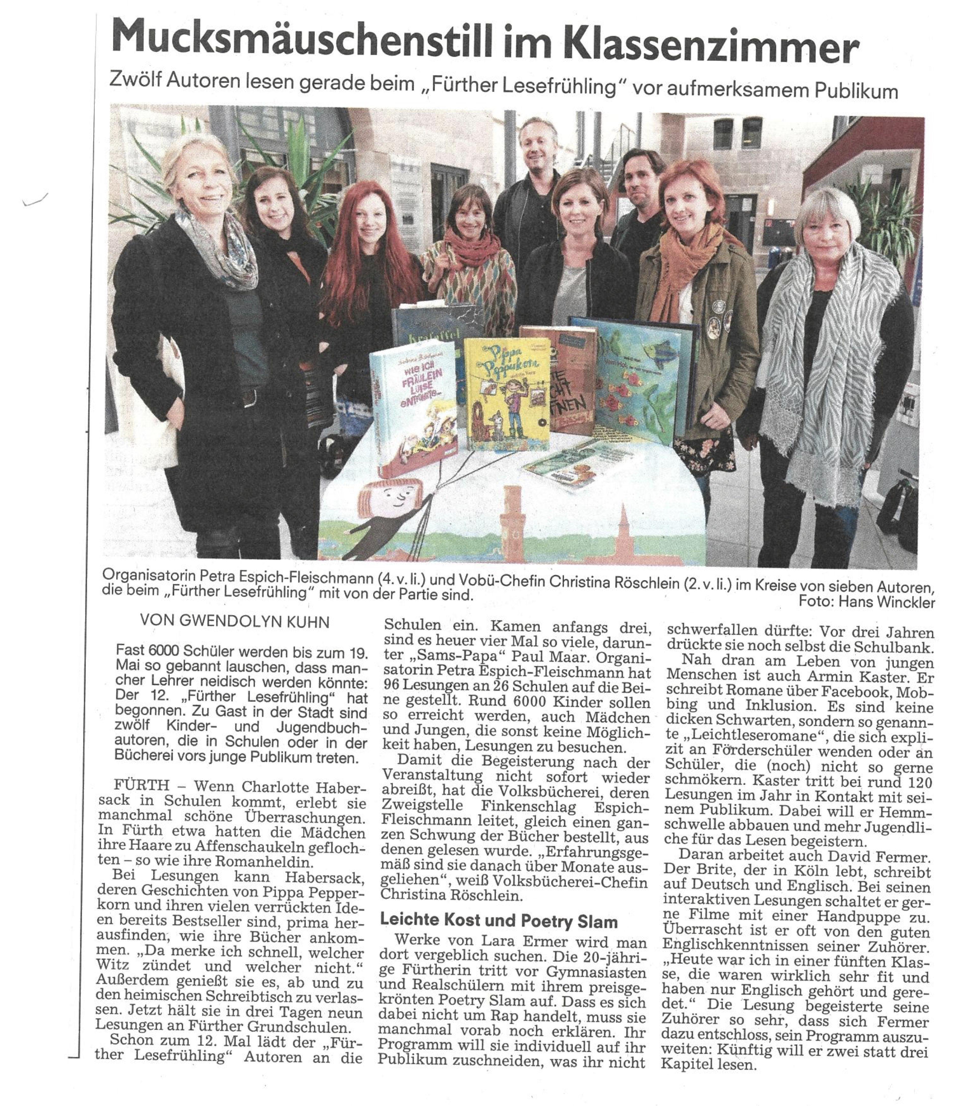 11. Zeitungsartikel FN 11-05-2017